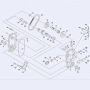 DANARM 71008-369 GEARBOX ASS