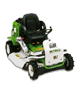 Etesia Ride On Brush Cutters and Mulch Mowers